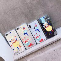 原创意恶搞趣味苹果x手机壳浮雕透明马戏团TPU小丑涂鸦英文字母6s