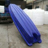 3米塑料船渔船钓鱼小船带活水仓双层牛筋料渔船加厚捕鱼船
