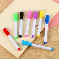 带刷白板笔彩芯黑芯小号白板笔优质可擦环保水性记号笔厂家直销