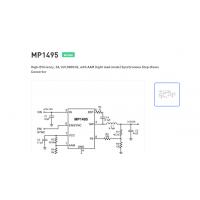 MP1495DJ-LF-Z 稳压器和电压控制器 开关控制器 SOT23-8 mps优势供应