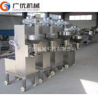 厂家加工自动出丸机 实心肉丸成型机 牛肉丸子机成型设备