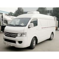 福田G7国五1.3L排量面包冷藏车 程力集团冷链车 湖北随州汽车厂直销冷冻车