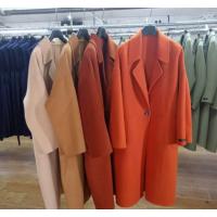 工厂清仓便宜女式毛呢外套杭州批发市场清仓一批羊绒大衣低价清货处理