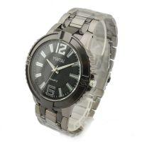 厂家订制石英表 非机械表男士手表 大数字刻度男表 爆款礼品手表
