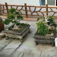 厂家低价出售庭院园林盆景 工艺品装饰种植盆栽摆件 景观仿古鱼盆