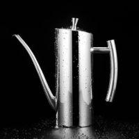 304 不锈钢油壶 厨房欧式防漏创意家用家居用品五金制品