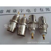 BNC母座,BNC母焊接型,BNC焊接型50欧姆镀镍镀金厂家C
