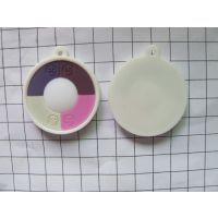 PVC软胶钥匙扣,UV测辐射PVC手机挂件钥匙扣,现模测紫外线软胶钥匙扣