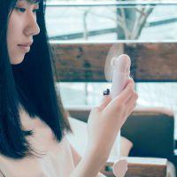USB迷你小风扇便携式随身伸缩充电风扇夏季降温小电扇活动小礼品