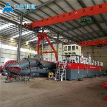 安徽环保清淤船油电混合动力 小型环保清淤船根据河道宽度定做型号