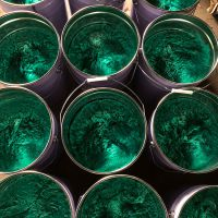 爱泽尔中温乙烯基玻璃鳞片胶泥 脱硫塔防腐施工材料 耐高温耐酸碱耐磨防腐胶泥