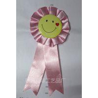 厂家直销马口铁笑脸胸花 节日派对个 庆典胸花 个性生日胸花