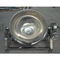 豆制品可倾斜式夹层锅