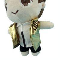 厂家定制明星EXO穿衣毛绒卡通公仔明星周边毛绒玩具