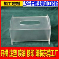 亚克力注塑加工厂定制PVC透明包装盒 亚克力透明化装品展示架