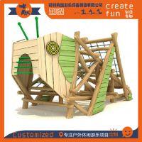 专业定制木质儿童攀爬游乐设施 营地创意昆虫造型儿童游乐设施