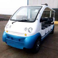 供应AS-0010 8座9座10座敞篷四轮电动观光车公园巡逻车景区旅游观光车