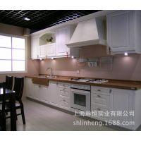 上海欧式模压橱柜 整体厨房 模压PVC门板 设计安装一体化