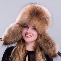 皮草帽子男冬季成年护耳雷锋帽东北男士加厚老年狐狸毛帽子
