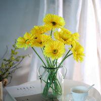 可定做非洲菊雏菊花仿真假花客厅装饰花雏菊花束塑料花摆件插花花