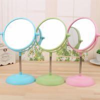 台式化妆镜 镜子双面梳妆镜 大号便携公主镜随身美容镜