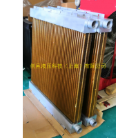 海洋装备海工设备液压系统铜管铜翅片式液压油换热器铜管式散热器