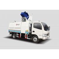 供应同辉汽车9方东风天然气侧装挂桶垃圾车QTH5074ZZZ