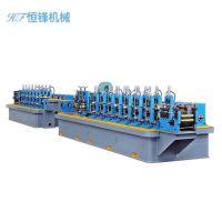 不锈钢分条机 焊管成型设备 焊管设备机组汽车排气管制管机