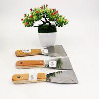 2元店热销货源 木柄不锈钢油灰刀 刮刀调墨刀 刮锡刀 清洁刀