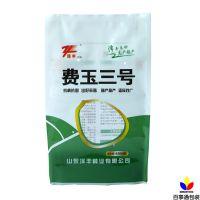 厂家定做农业种子包装袋玉米种子袋饲料袋开窗透明塑料现货批发