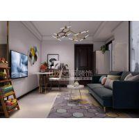 山水装饰集团施工融科梧桐里公寓装修43平效果图案例