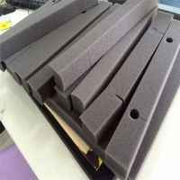 厂家定做高密度海绵内衬内托 空气净化器专用背胶海绵条批发销售