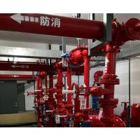 松江区装修消防公司 喷淋头 烟感 消防栓箱安装施工
