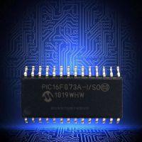 PIC16F873A-I/SO原装Microchip PIC单片机 闪存微控制器 SOIC-28