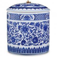 普洱存茶罐防潮茶具大号茶叶桶 景德镇茶叶罐陶瓷手工茶缸