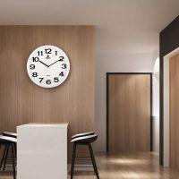 霸王钟表创意挂钟客厅现代简约大气静音个性时尚圆挂表时钟石英钟