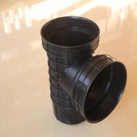 塑料检查井厂家直销 规格齐全hdpe塑料管 污水雨水供连接排水管道