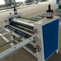 木工机械全自动单双面涂胶机 多功能板材自动滚胶机 覆面机