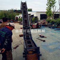水平刮板输送机大提升量 灰粉刮板机锦州