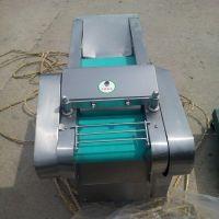 华晨 良姜切片切丝机 中药材陈皮切丝机 厨房用海带切菱形机