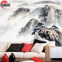 无缝3D立体风景背景墙无纺布壁纸壁画玄关走廊楼梯过道墙壁纸