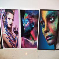玻璃屏风浮雕彩绘机 3D玻璃屏风平板彩绘机制造商