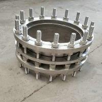 国安不锈钢304SSQP双法兰压盘式限位伸缩接头 食品化工管道专用松套伸缩接头