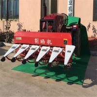 文远牌专用生产割晒机 胡麻收割机 多功能小麦割晒机