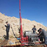 便携式小型勘探岩芯钻机   厂家直销HTZB-500型山地勘探钻机