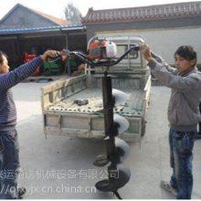 柳州多功能栽树钻洞机 硬土质挖坑机重量轻
