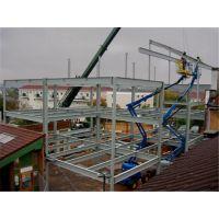 昆山钢结构搭建安装型号平台展示