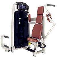 德州健身器材坐式双向推胸训练器太空系列器械厂家定制