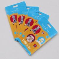 公交PVC卡套硬透明学生门禁交通地铁公交卡保护套钥匙扣饭卡卡套定制
