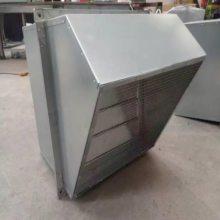 边墙式轴流风机 WEX-400D4-0.19KW/AC380V 配套45°防雨罩